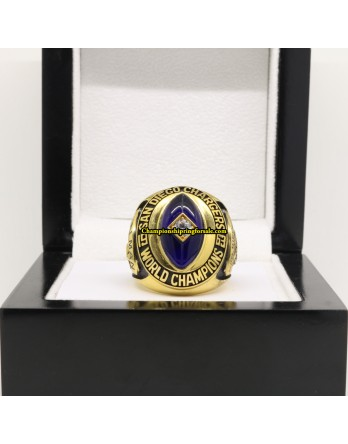 San Diego Chargers 1963 AFL Football Championship Ring