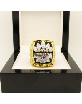 2005 Pittsburgh Steelers NFL Super Bowl XL Football Championship Ring