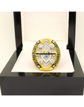 Pittsburgh Steelers 2008 Super Bowl Football Championship Ring