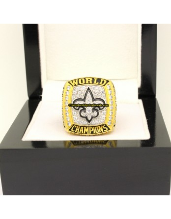 New Orleans Saints 2009 Super Bowl Football Championship Ring