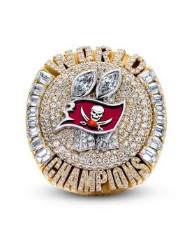 2020 Tampa Bay Buccaneers  Super Bowl Football Gemstone Championship Ring