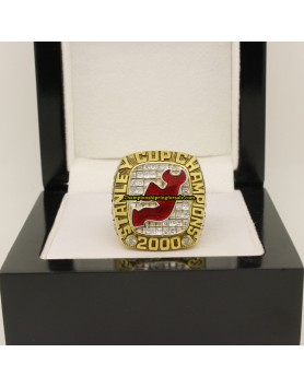 2000 New Jersey Devils NHL Stanley Cup Ice Hockey Championship Ring