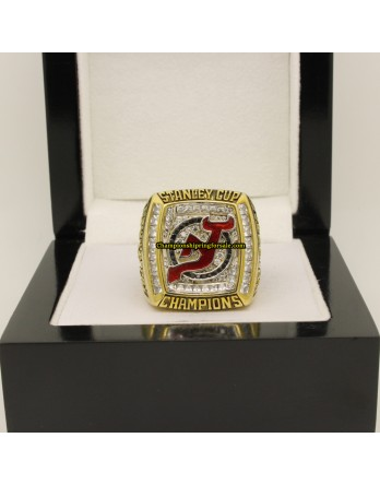 2003 New Jersey Devils Stanley Cup Ice Hockey Championship Ring