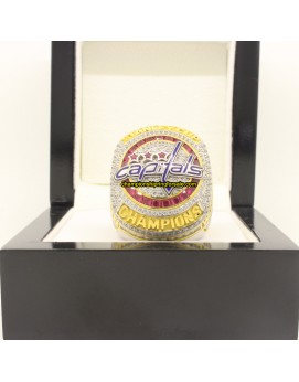 2018 Washington Capitals	Stanley Cup Ice Hockey Championship Ring