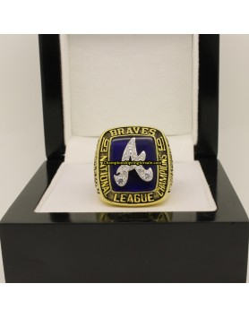Atlanta Braves 1991 NL National League Baseball Championship Ring