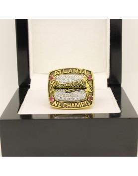 Atlanta Braves 1996 NL National League Baseball Championship Ring