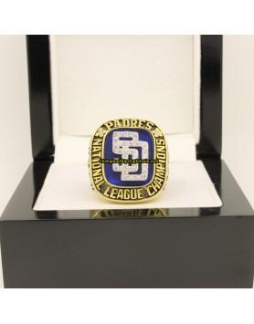 San Diego Padres 1998 NL National League Baseball Championship Ring