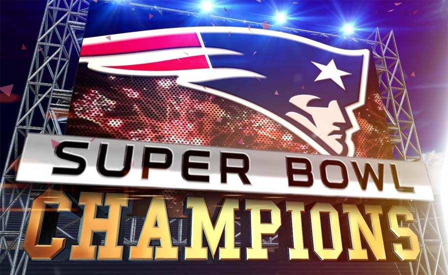 The Greatest Comeback! New England Patriots won Super Bowl 51
