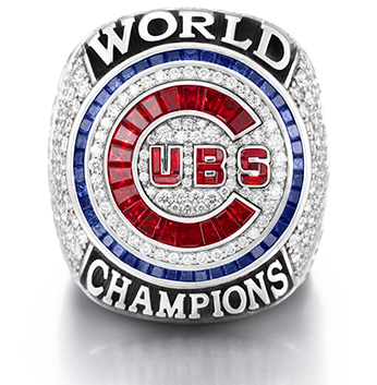 Chicago Cubs receive 2016 World Series Championship rings